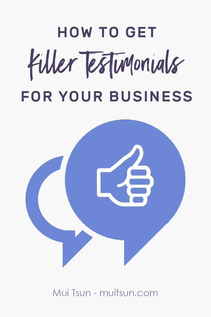 Get killer client testimonials for your business using this easy-to-follow system. Download free checklist and email templates.