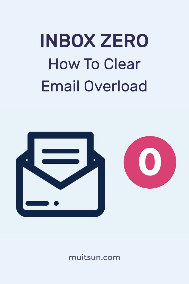 Are you overwhelmed by your inbox? Here's how to stop using your inbox as a to-do list and what to do instead.