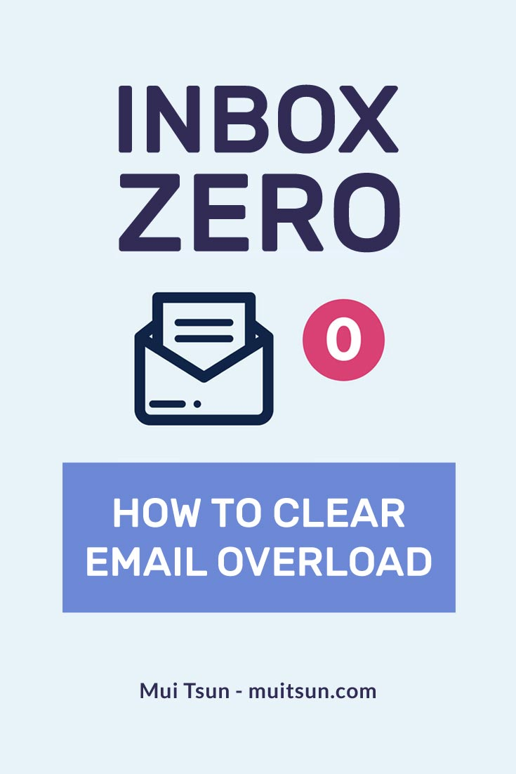 Inbox Zero - Stop treating your inbox as a to-do list and start using as what it should be.