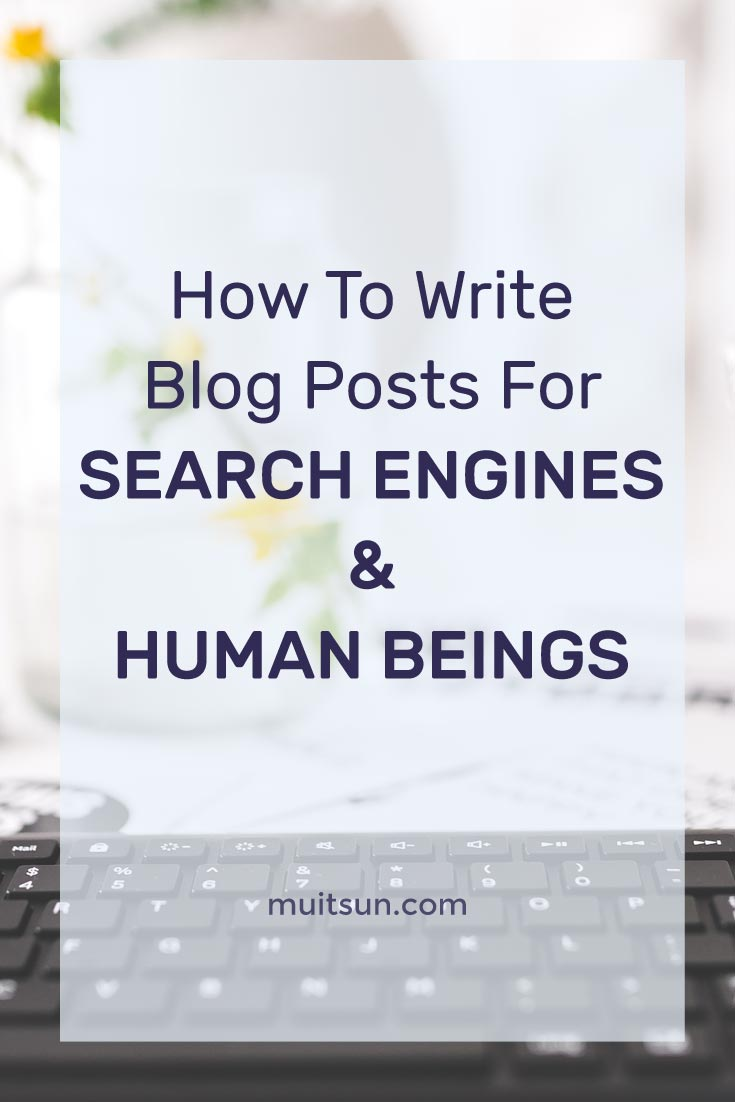 Don't write like a robot just for SEO. The best way to rank higher on Google is to write great content that humans will love reading. Find out how.