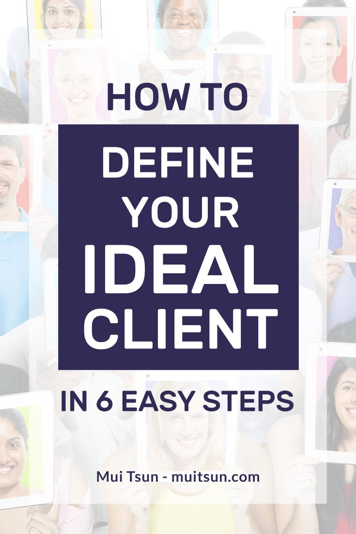 Defining your ideal client brings clarity and focus to your marketing strategy, which in turn will create more leads and sales, and make for a more profitable business.