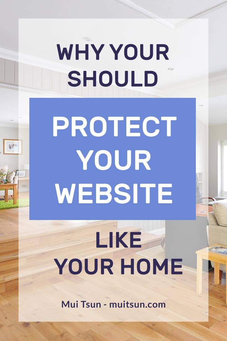 You wouldn't leave your home unprotected. So why would you leave your website open to hackers?
