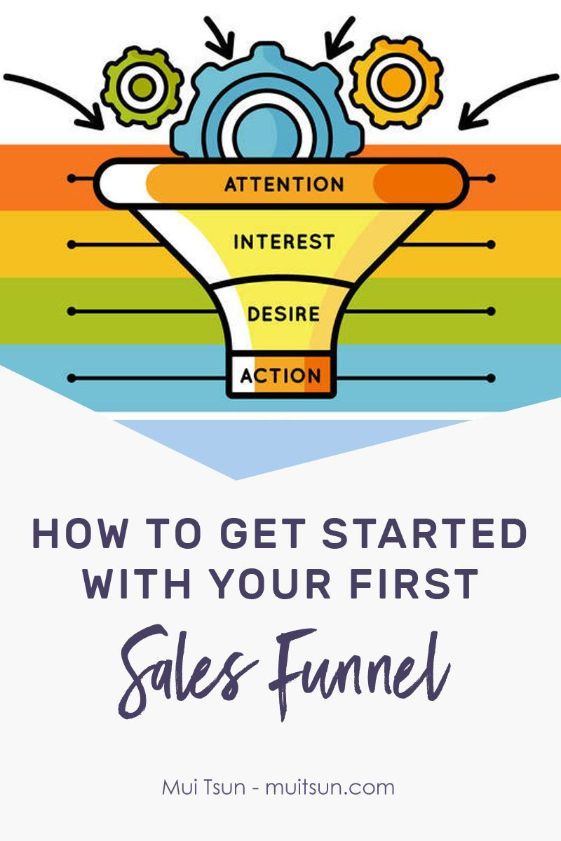 How to get started with your first sales funnel to bring in more leads and sales.