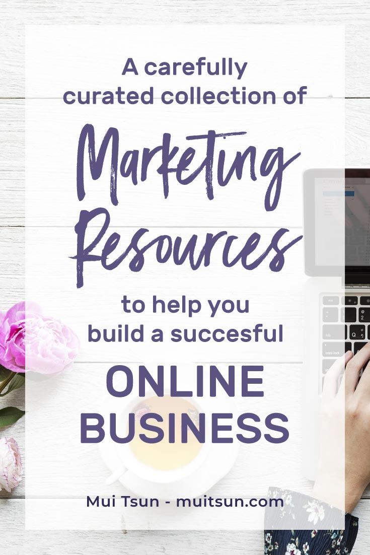 A carefully curated collection of marketing resources to help you build a successful online business.