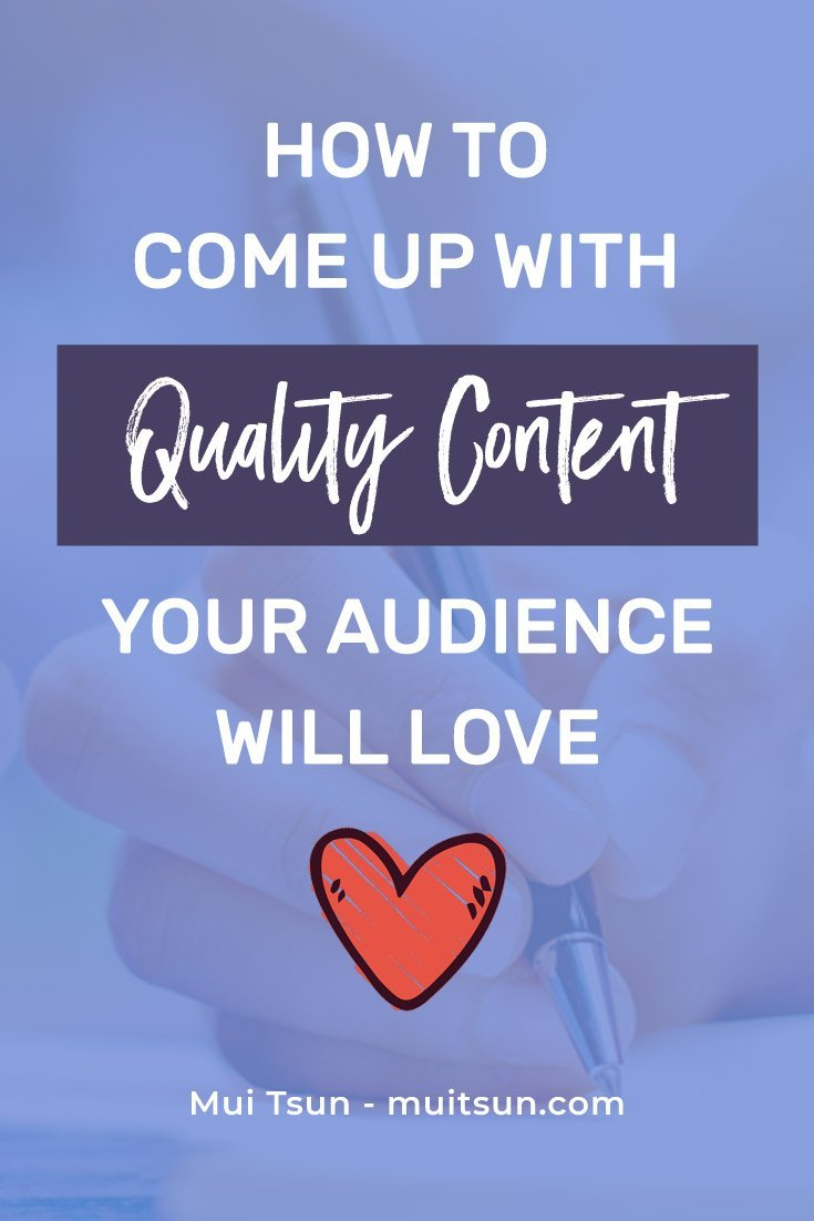 4 questions to ask yourself to help you create quality content that's relevant to your target audience and helps boost your following and authority.