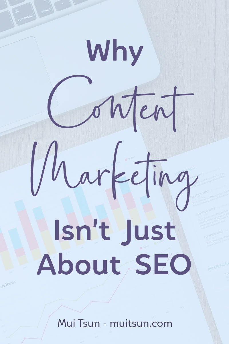 Content marketing isn't all about SEO. A strong content strategy can provide your business with a whole range of other benefits. Let's run through a few of them and find out how you can start benefiting from them today. #ContentMarketing #SEO #Blogging #MarketingTips