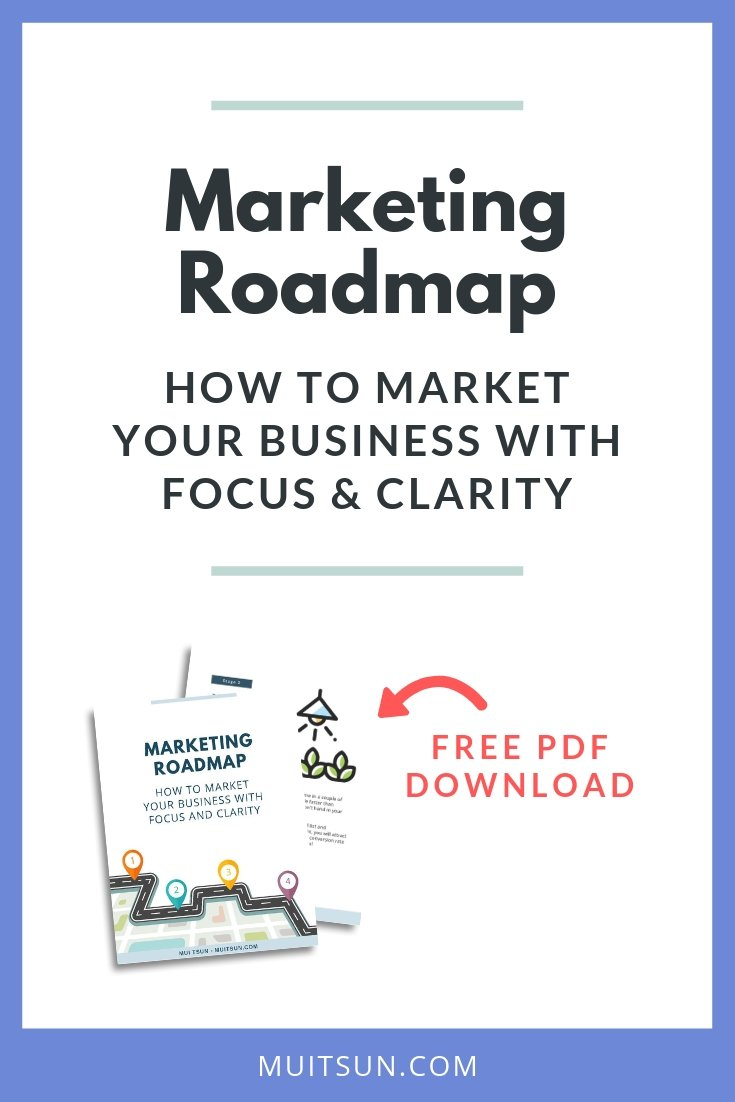 Do you feel like marketing is all a bit of guessing game? Download this roadmap and you'll know exactly what to focus on at your particular stage of business.