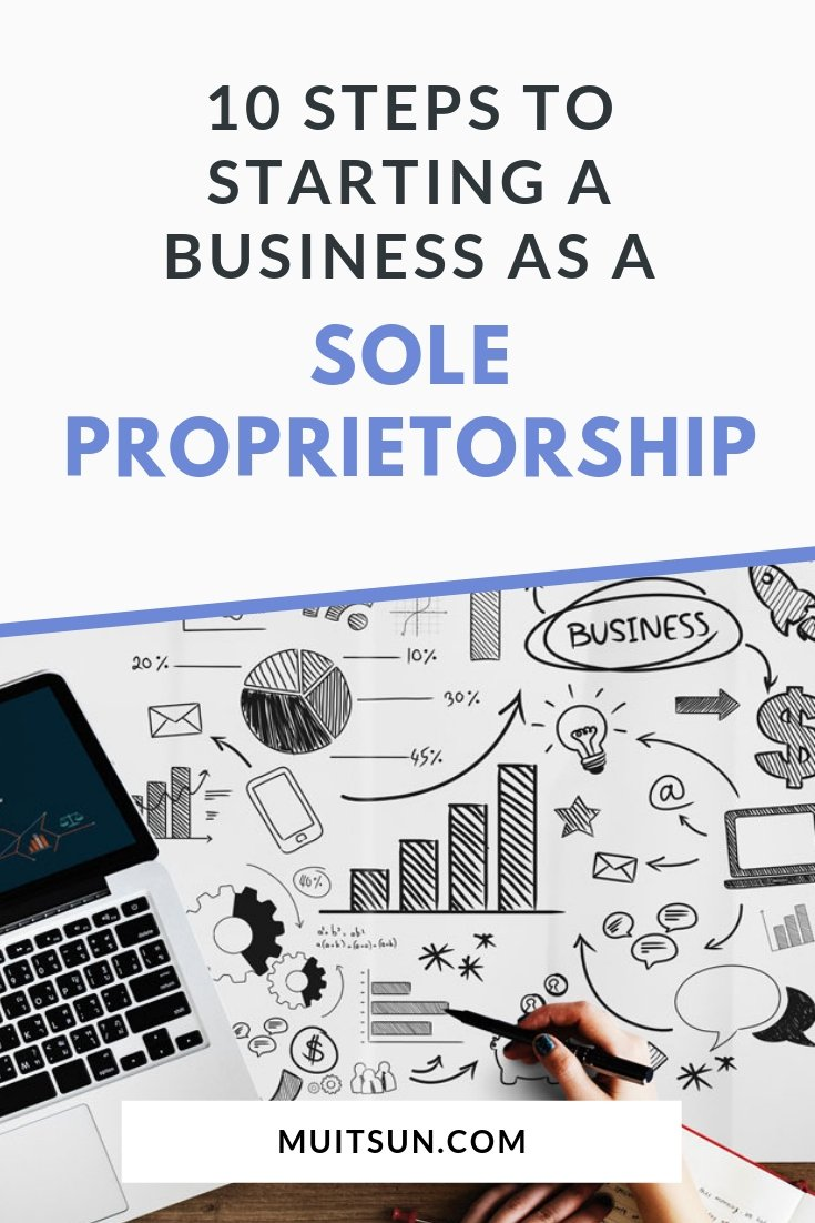 Thinking of starting your own business? Find out if a sole proprietorship is right for you. #soleproprietorship #onlinebusiness