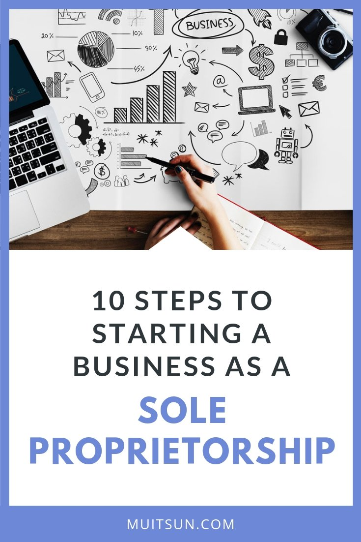 Is sole proprietorship right for your busines? Read this article to learn more. #soleproprietorship #onlinebusiness