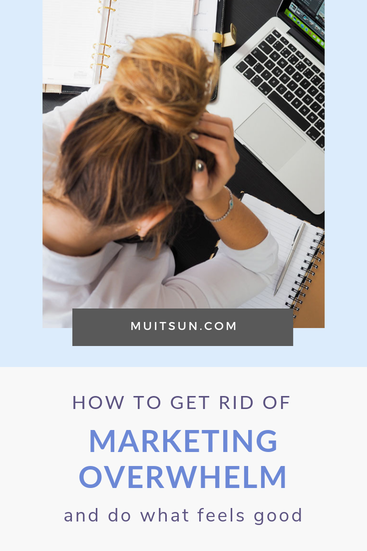Feeling overwhelmed about how much you have to do to market your business? Here's how to get rid of that overwhelm and make marketing fun. Watch the video...