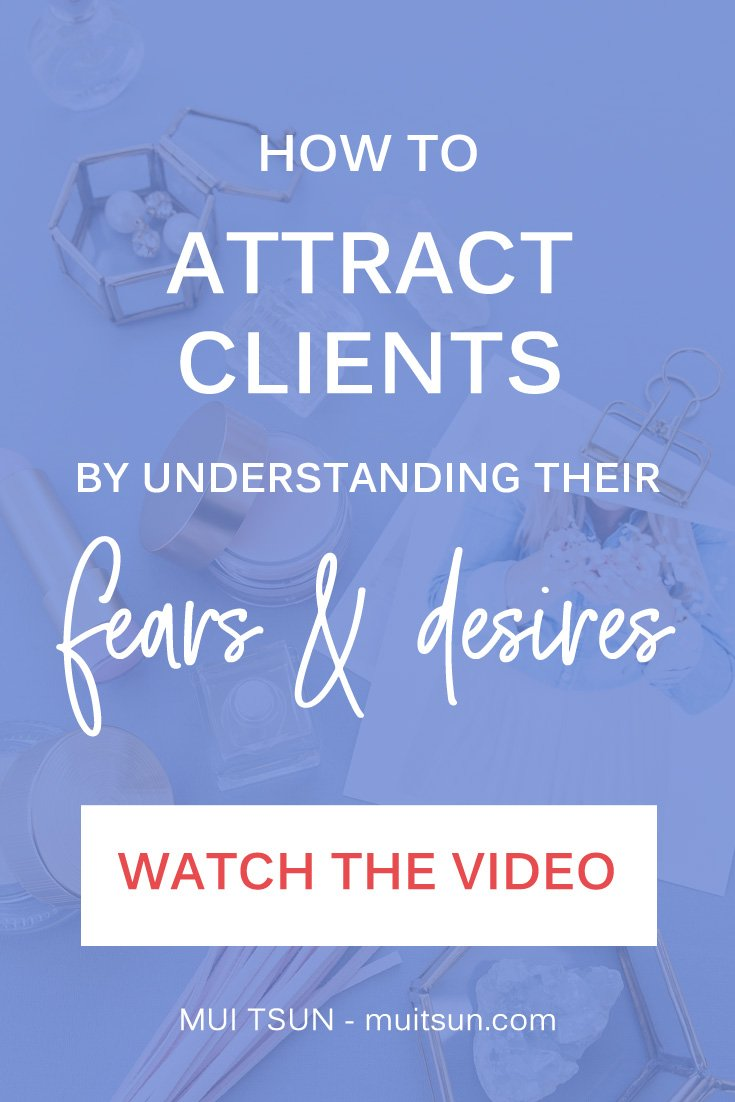 Do you need to attract more clients? Or attract more of the right type of clients? If so, here's a strategy that will help you shape your marketing message so your potential clients will stop and pay attention.