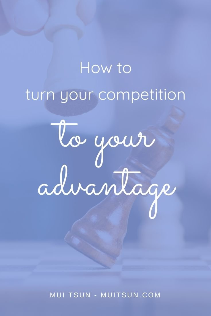 Coming up with brand new ideas isn't what differentiates most businesses. The vast majority of successful businesses are built on existing ideas by improving on an existing concept. The question is, how do you turn competition to your advantage? #onlinemarketing