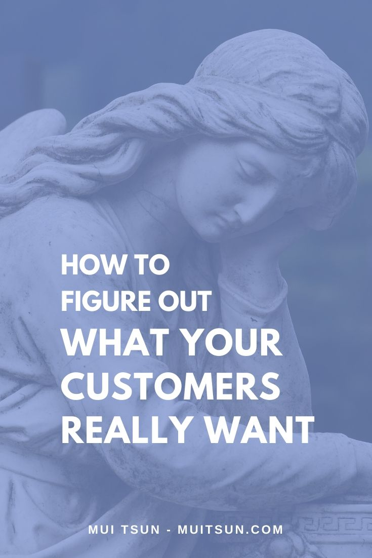 What your customers really want: When you can explain your customer's problem and articulate their desires better than they can themselves, and show them what success looks like, they'll trust that you have the answer.