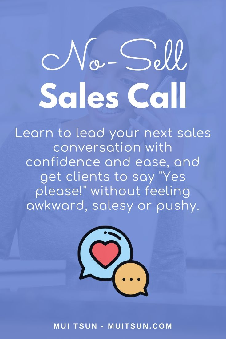 No-Sell Sales Call