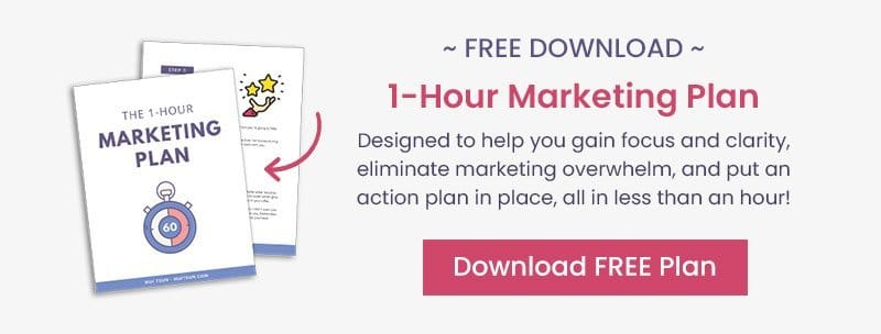 1 Hour Marketing Plan