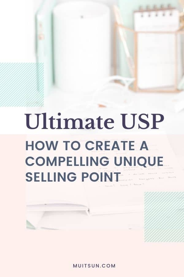 The Ultimate USP - How to Create a Compelling Unique Selling Point